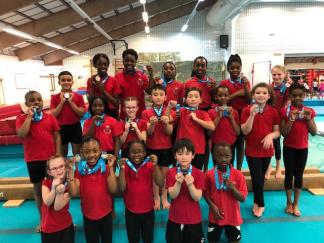 team gymnastics 2018